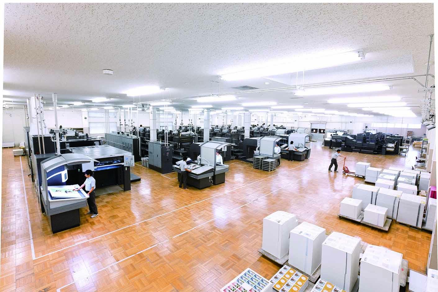 枚葉印刷室(石狩工場)